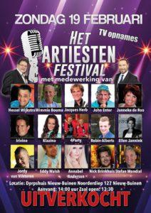 Flayer Artiesten Festival