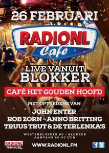 RADIO NL CAFE BLOKKER